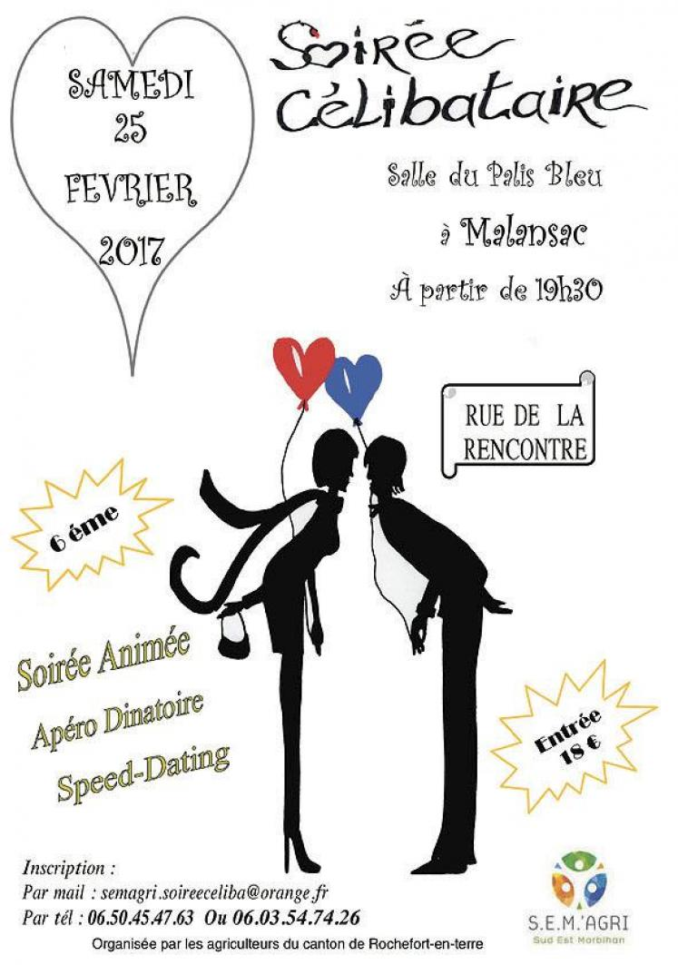 Soirée Speed Dating Bretagne